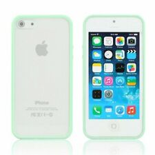 iPhone 6S 6 case Bumper Case Cover Protective Frosted Clear Hard Green