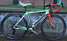 """Bici corsa bambino alu-carbon Saccarelli Junior 24"""" Campagnolo Veloce road bike"""