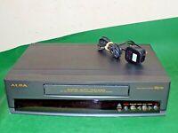 ALBA VCR7340t VCR VHS VIDEO CASSETTE RECORDER Vintage Black FAULTY SPARES