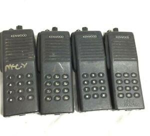 X4 - Kenwood Corporation TK-290 VHF FM Transceiver Radio TMF ANI formats DTMF