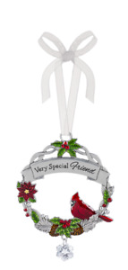 Ganz A Very Special Friend  Cardinal  Ornament Free Ship