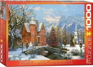 Eurographics 1000 Piece Jigsaw Puzzle - Davidson - Holiday Lights EG60000669