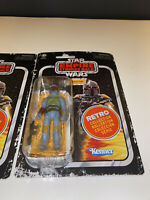 Star Wars Retro Collection Boba Fett Action Figure Vintage Style New SHIPS NOW