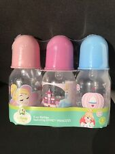 3-5oz Disney Princess Cinderella Baby bottles