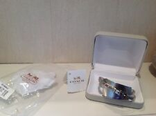 Coach bangle / bracelet silver, rare , ltd edition