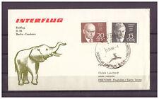 DDR, IL 18 Erstflug Berlin - Freetown SSt Berlin 28.11.1969