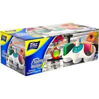 Titiz Soap Dispensing Sponge Holder Kitchen Accessories Space Saver Desk Top New