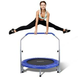 SereneLife 40 Inch Portable Highly Elastic Jumping Sports Trampoline, Adult Size