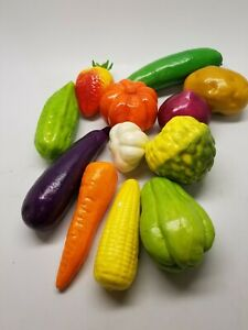 Set of 12 Artificial Vegetables
