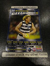 2006 AFL TEAMCOACH BASE CARD GEELONG NO.60 CAMERON LING