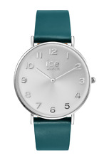 ICE WATCH SALE! CITY TANNER GREEN SILVER WRIST WATCH 001523 RRP $199