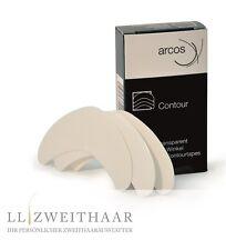 Arcos Contour Toupet Perücken Wig Winkel transparent Toupetpflaster  36 stk