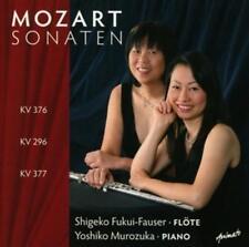 Shigeko Fukui-Fauser-Mozart sonaten KV 376,296 & 377 (OVP)