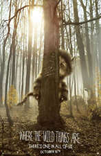 POSTER WHERE THE WILD THINGS ARE SPIKE JONZE FANTASY 2