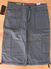 GIN TONIC Men ~ W31 (44/46) ~ blau ~ Hose Bermuda Shorts ~ Cargo ~ NEU !!!