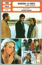 DERRIERE LA PORTE - Mastroiainni,Cavani (Fiche Cinéma) 1982 - Beyond Obsession