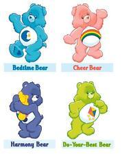 Care Bear 4 pack #1  T-shirt Iron on transfer 8x10