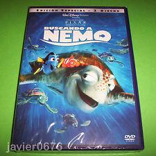 BUSCANDO A NEMO DISNEY PIXAR NUEVO Y PRECINTADO EDICION 2 DISCOS DVD