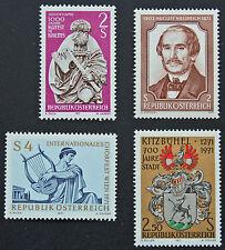 AUTRICHE timbre - Yvert et Tellier n°1182 à 1195 n** stamp Austria (cyn5)