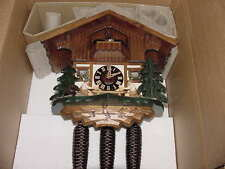 DOLD 8MT76 Moving Beer Drinkers 8 Day Musical Cuckoo Clock w/ Pine Trees