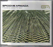 Groove Armada-If everybody looked the Same cd maxi single