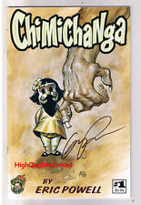 CHIMICHANGA #1, NM-,Signed by Eric Powell ( Goon ) ,2010,, more EP in store