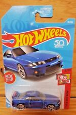 Hot Wheels 2018 THEN AND NOW 6/10 NISSAN SKYLINE GT-R R33 (US Card) 46/365 A+/A-