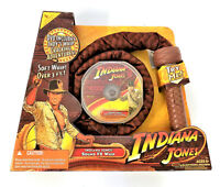 Indiana Jones Electronic Sound FX Whip With DVD 2008 Hasbro
