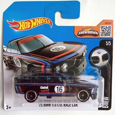 Hot Wheels '73 BMW 3.0 CSL Race Car - black
