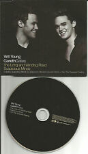 WILL YOUNG & GARETH GATES Long and Winding road CD single BEATLES Rermake Cover