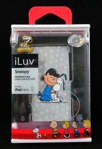 iLuv Peanuts Character Hardshell Case For iPod Nano Snoopy & Lucy 7G NEW SEALED