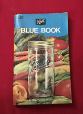 """""""Ball Blue Book"""" Canning Cookbook 1974"""