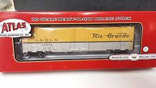 Denver Rio Grande Western Railroad 50' single door box car 64064 Atlas 20003390