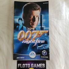 Notice de 007 Nightfire pour Nintendo Gamecube PAL FR - Floto Games