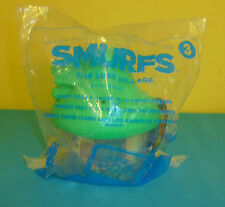 McDonald's Happy Meal Toy Smurfs The Lost Village 2017 #3 Green House Smurfette