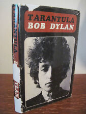 1st Edition TARANTULA Bob Dylan FICTION 3rd Printing CLASSIC Poetry NOBEL PRIZE