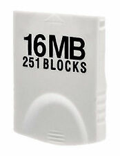 Hyperkin 16MB (251 Blocks) White Memory Card for Nintendo Wii or GameCube - M05018