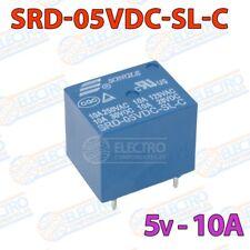 Rele 5v 10A SPDT - SRD-05VDC-SL-C - Arduino Electronica DIY