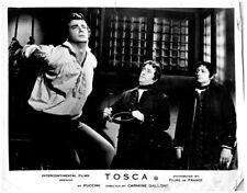 Tosca Original Lobby Card  Franco Corelli Dino Conti 1956 Italy