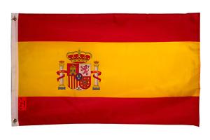PRINGCOR New 2x3 National Spanish Flag of Spain Country Banner Espana Madrid