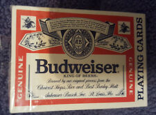 Budweiser Beer Deck of Playing Cards United States Playing Card Co. #350