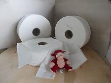 Papier toilette Maxi jumbo 350M 2 plis pure ouate - 6 bobines