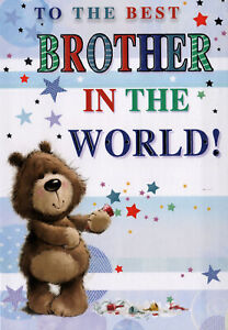 For Brother Birthday Card