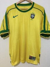 BRAZIL VINTAGE INTERNATIONAL HOME 1999 / 2000 NIKE FOOTBALL SHIRT
