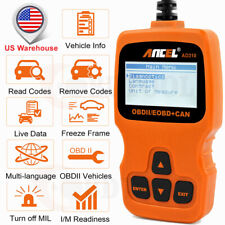 Code Reader OBD2 Scanner Engine Light Check Live Data Diagnostic Automotive US