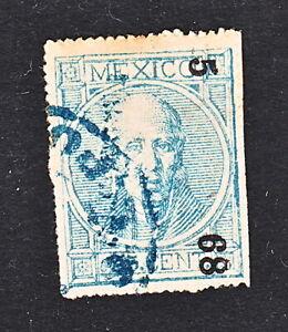 HIDALGO  25c #68  S. L. P. 5-68   SK#1444  R6 (H1430)