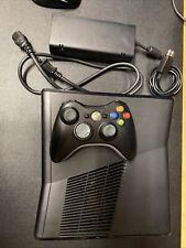Microsoft Xbox 360 S 4Gb Console Matte Black- Excellent Condition -