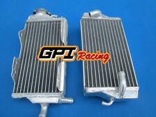 Aluminum Radiator for Honda CR125R CR 125R CR125 2 stroke 2000-2001