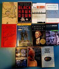 Lot of 11 mixed history/war/culture/novels fiction/non-fiction see descriptions