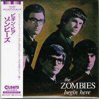 THE ZOMBIES-BEGIN HERE-JAPAN MINI LP CD BONUS TRACK  C94
